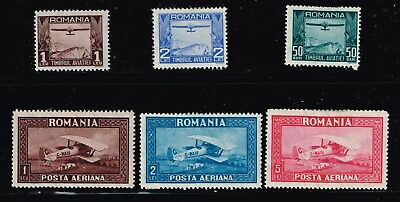 Romania Stamp Mint Air Male Stamps Collection Lot