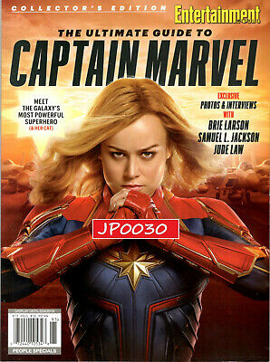 Entertainment Weekly Collectors 2019 The Ultimate Guide To Captain Marvel,Sealed