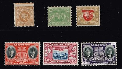 Lithuania Stamp Mint And Used Stamps Lot