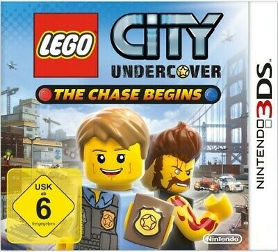Nintendo 3DS Spiel - LEGO City Undercover Chase Begins mit OVP