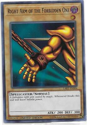 YuGiOh Right Arm of the Forbidden One LART-EN006 Ultra Sealed Mint Fast Ship