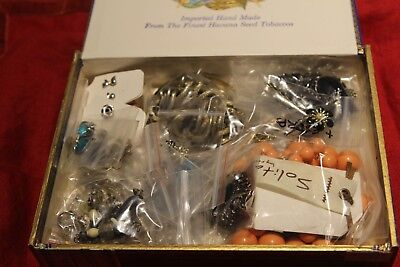 Mixed Vibe A Jewelry Mystery Cigar Box 795g of variety to mix and match 25 pcs