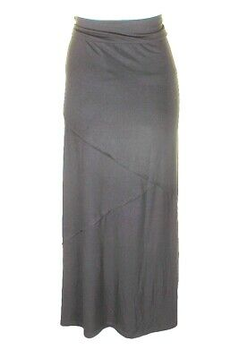 Style & Co Women's Charcoal Long Skirt Size L