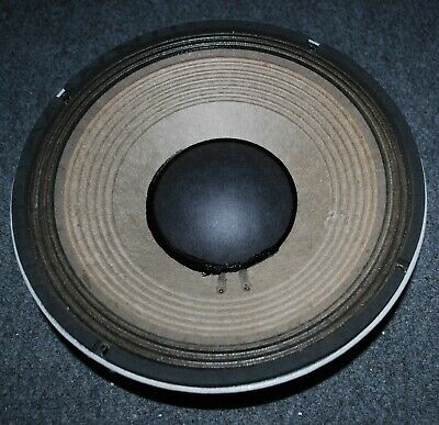 "JBL 2206H 12""-8 OHM WOOFER-OHM & AUDIBLY TESTED-PUNCTURE-45Hz-3.5kHz-SHIPS FAST"