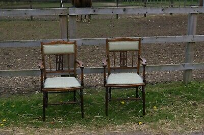 2 Regency Carver Chairs