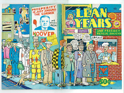Lean Years (Cartoonists Co-Op 1974) Adult, Social Commentary, rare
