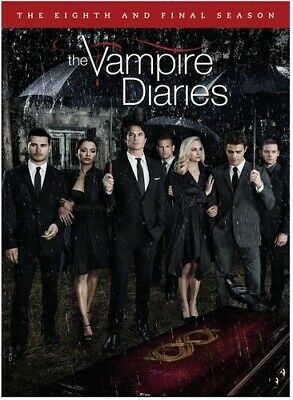THE VAMPIRE DIARIES TV SERIES EIGHTH & FINAL SEASON 8 New Sealed 3 DVD Set