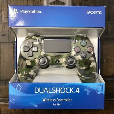 *BRAND NEW* DualShock 4 Wireless Controller for PlayStation 4 Green Camouflage