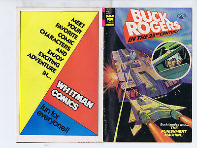 Buck Rogers  in the 25th Century 13(Whitman 1980) The Punishment Machine