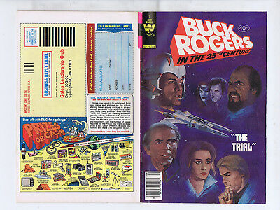 Buck Rogers  in the 25th Century 7 (Whitman 1980) The Trial