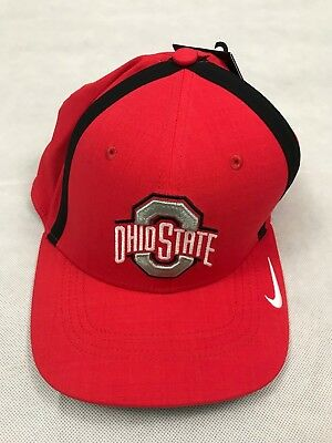 check out eee51 4555c Nike Men s Ohio State Buckeyes One Size Aerobill Hat Cap Red 845789-657 A4