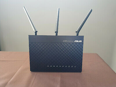 Asus DSL-AC68U Dual Band Wireless AC 1900 Gigabit ADSL/VDSL Modem 4Port - As New
