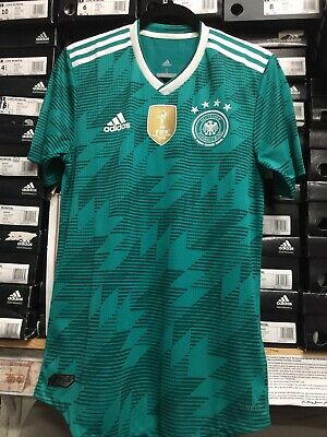 9662fc3fc Adidas Germany Away Jersey Authentic Green White Player Version Size Small  Only