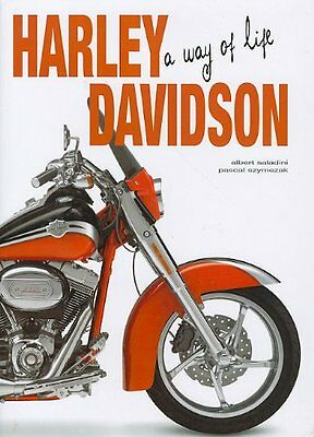 HARLEY DAVIDSON A Way of Life - HUGE NEW HARDCOVER Electra Glide NEW