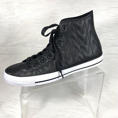 Converse Chuck Taylor All Star Hi 153975C Leather Shoes Men s 9.5 Women s  11.5 714add3ae