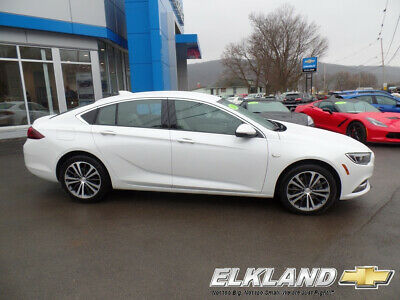 2018 Buick Regal Only 4000 Miles  White Frost Tintcoat AWD Navigation  Apple Carplay  Remote Start  Heated Steering Wheel  Rear Camera