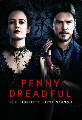 Penny Dreadful: The Complete First Season (DVD, 2014, 3-Disc Set) Dracula erotic