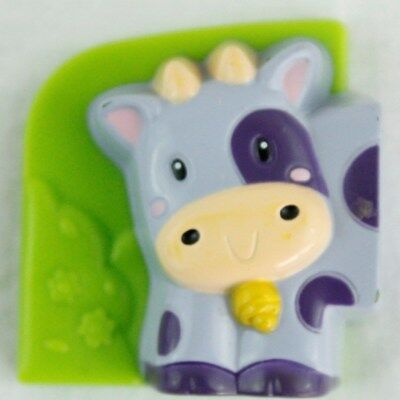 LeapFrog Fridge Farm COW Front Magnetic Animal Head Left Replacement Piece