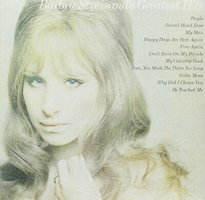 Barbra Streisand Greatest Hits -  CD TCVG The Cheap Fast Free Post The Cheap