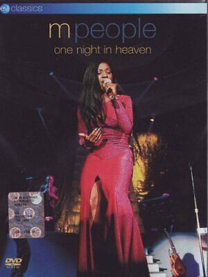 M People - One Night In Heaven [DVD] [2006] - DVD  6QVG The Cheap Fast Free Post