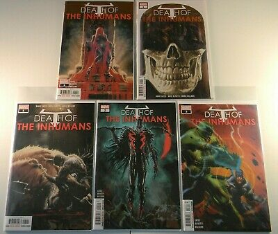 Marvel Comics Death of the Inhumans 1 2 3 4 5 FREE SHIPPING