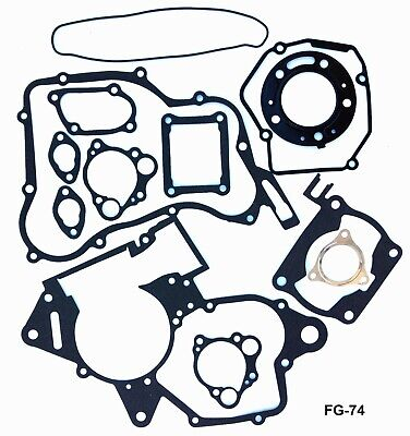 Honda Cr 125 R Complete Engine Gasket Kit Set Cr125 R 1990 1999