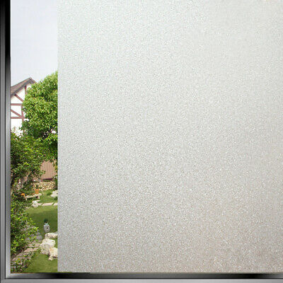 45x100cm Textured Window Window Decor Glass Frosted Vinyl Privacy Top Quality