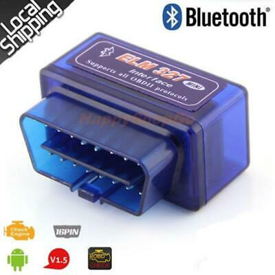 ELM327 Auto Scan Diag Bluetooth Scanner OBDII OBD2 Car Torque Android CAN Tool