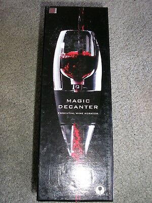 Magic wine decanter and aerator