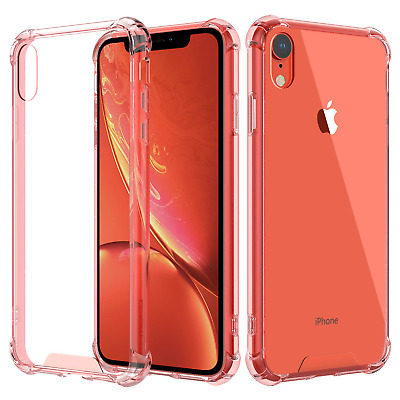 MoKo Compatible with iPhone XR Case, Crystal Clear Reinforced Corners TPU...