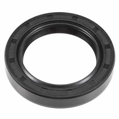 sourcing map Oil Seal TC 42mm x 60mm x 10mm Rubber Nitrile Cover Double Lip