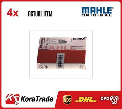 4 x MAHLE ENGINE CYLINDER PISTON RINGS KIT FOR 1 CYL. 004 06 N0