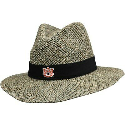 new concept 4ee5f 31acc Top of the World Auburn Tigers Bunker Straw Hat - Tan