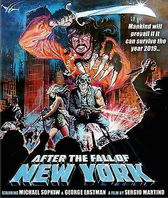 2019: AFTER THE FALL OF NEW YORK Code Red BLU-RAY Sergio Martino ESCAPE FROM NY