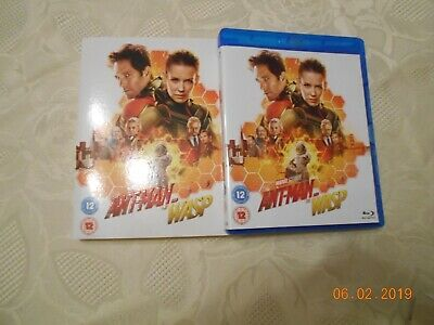 Ant-Man And The Wasp - Marvel Bluray 2018 - Watched Once