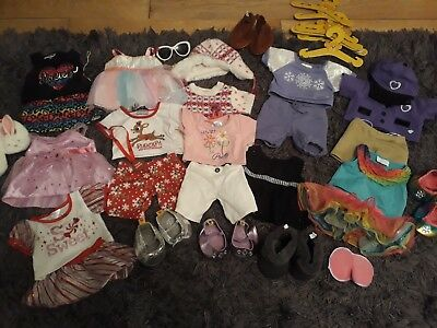Build A Bear clothes and shoes bundle. all in great condition!!