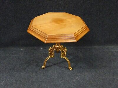 Victorian Mahogany Cast Iron Base Side Table Lamp Table Coffee Table