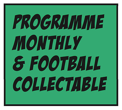** New ** - Issue 456 - March 2019  Programme Monthly & Football Collectable Mag
