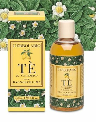 L'ERBOLARIO Bagnoschiuma Te' & Cedro 250 ml