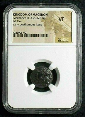 Authentic Greek coin of Alexander III The Great 336-323 BC, NGC VF 5007