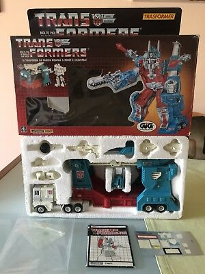 Convoy Transformers G1 Takara Gig Made In Japan Bellissimo