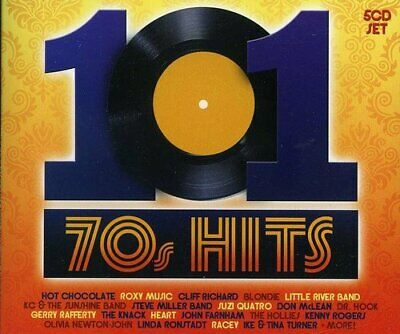 Various Artists - 101 70s Hits - Various Artists CD 34VG The Fast Free Shipping