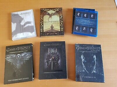 Lot dvd Saison 1, 3, 4, 5, 6 de Game of Thrones PRIX INCROYABLE + 5 DVD Saison 7