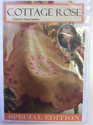 Jenny Haskins Designs Special Edition A Quilt - Cottage Rose Collection