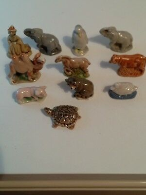 Job lot of wade whimsies includes pig camel
