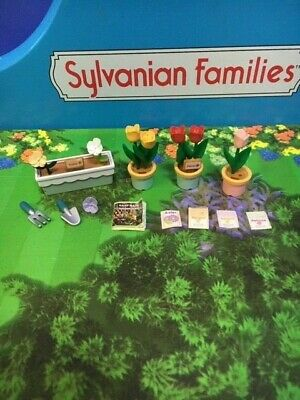 Sylvanian Families Original Flowers Plants And Accessories For Stall Garden Shop