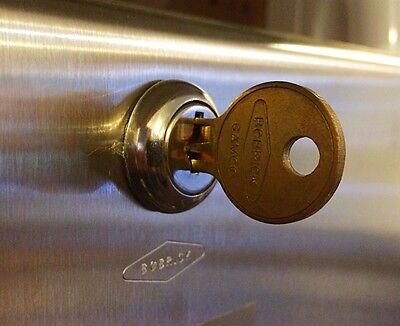 Bobrick 352-100 Replacement Lock and Key for B262 Dispenser