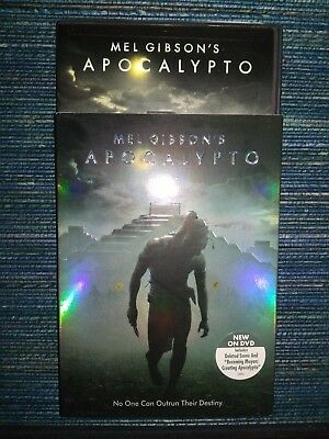 Apocalypto (DVD, 2007) including Slipcover Rare OOP Region 1 USA