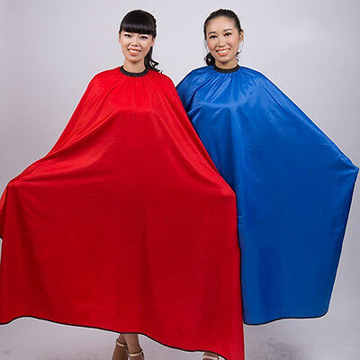 GT- Barber Salon Gown Cape Hairdresser Hair Cutting Waterproof Cloth Tools R30