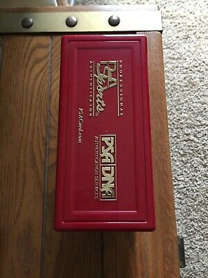 PSA Card Storage Box Case Tough to Find - Red